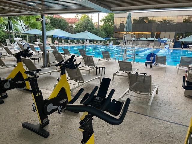 Houstonian Hotel exercise room
