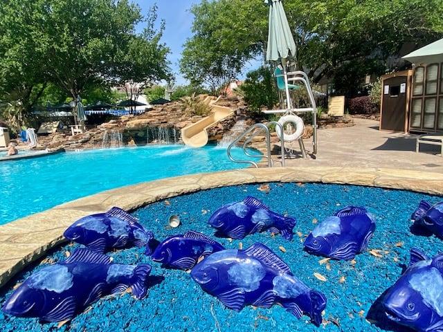 Houstonian Hotel pool