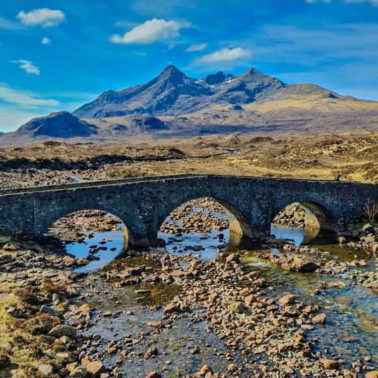 Isle of Skye Sligachan Bridge