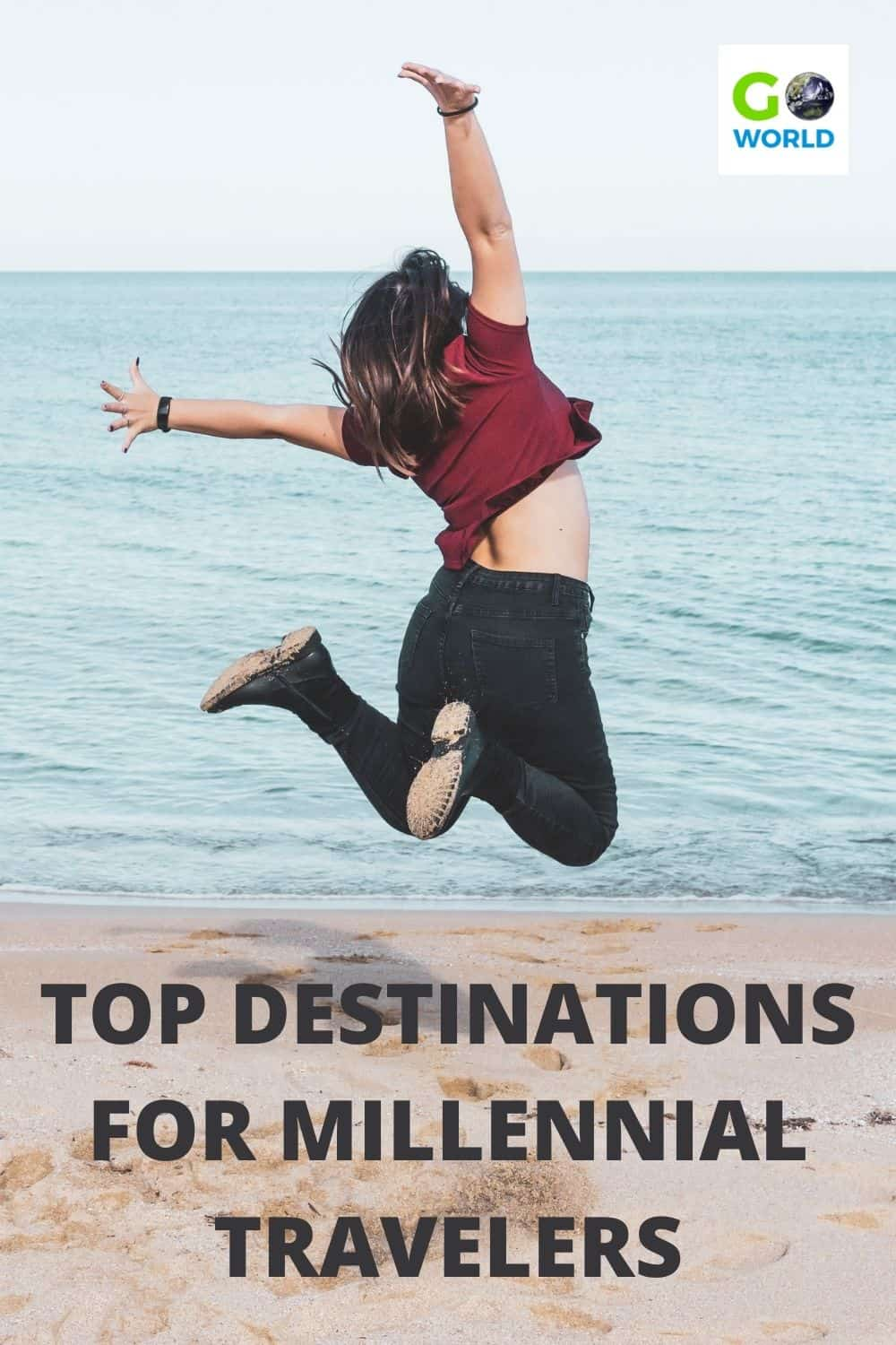There's something so special about travelling when you're young, which is why Millennials and Gen Z's should travel sooner rather than later. Here are five destinations young travelers should instantly add to their list of places to travel. #MillennialTravel #TopDestinationsforMillennials #TravelingYoung
