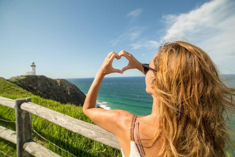Millennial Traveler at Byron Bay Australia