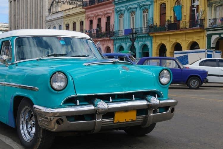 Havana Cuba vinatge car