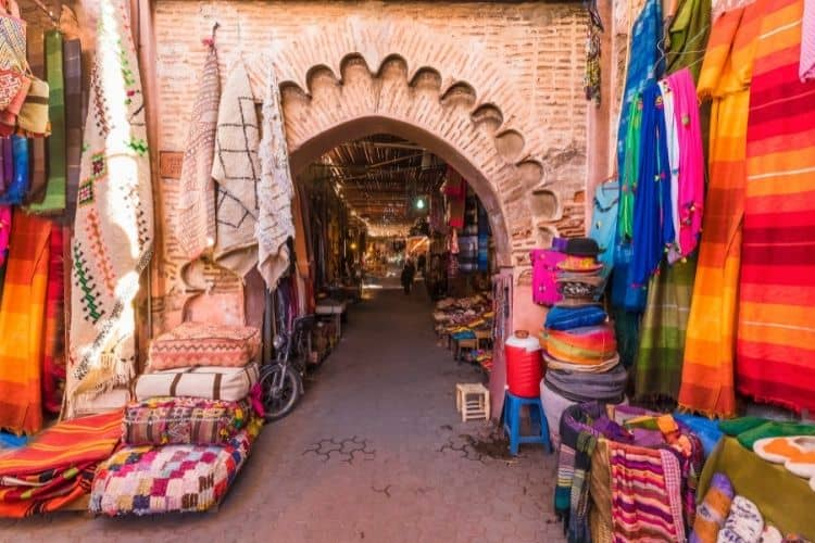 Millennial Travelers in Marrakesh Morocco