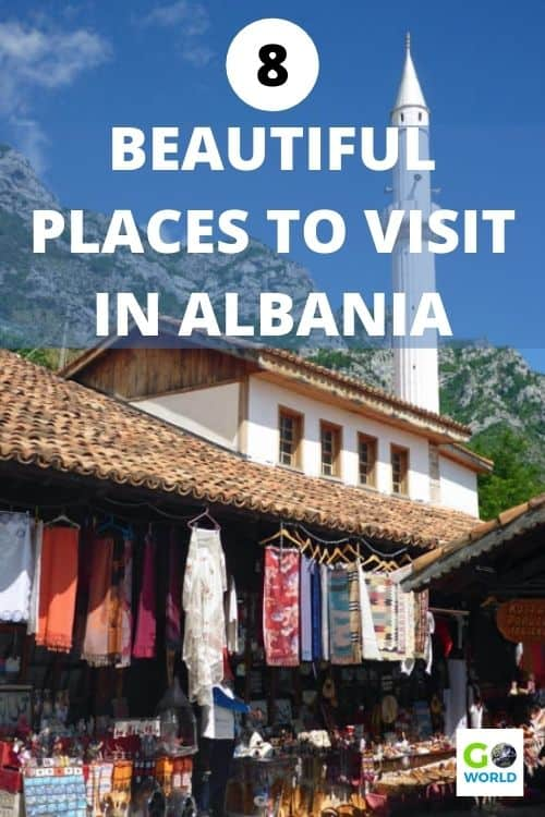 Albania is wide-open and welcoming visitors. If you're ready to travel again here are the best activities and places to visit in Albania. #TravelAlbania #PlacestovisitinAlbania #EuropeTravel