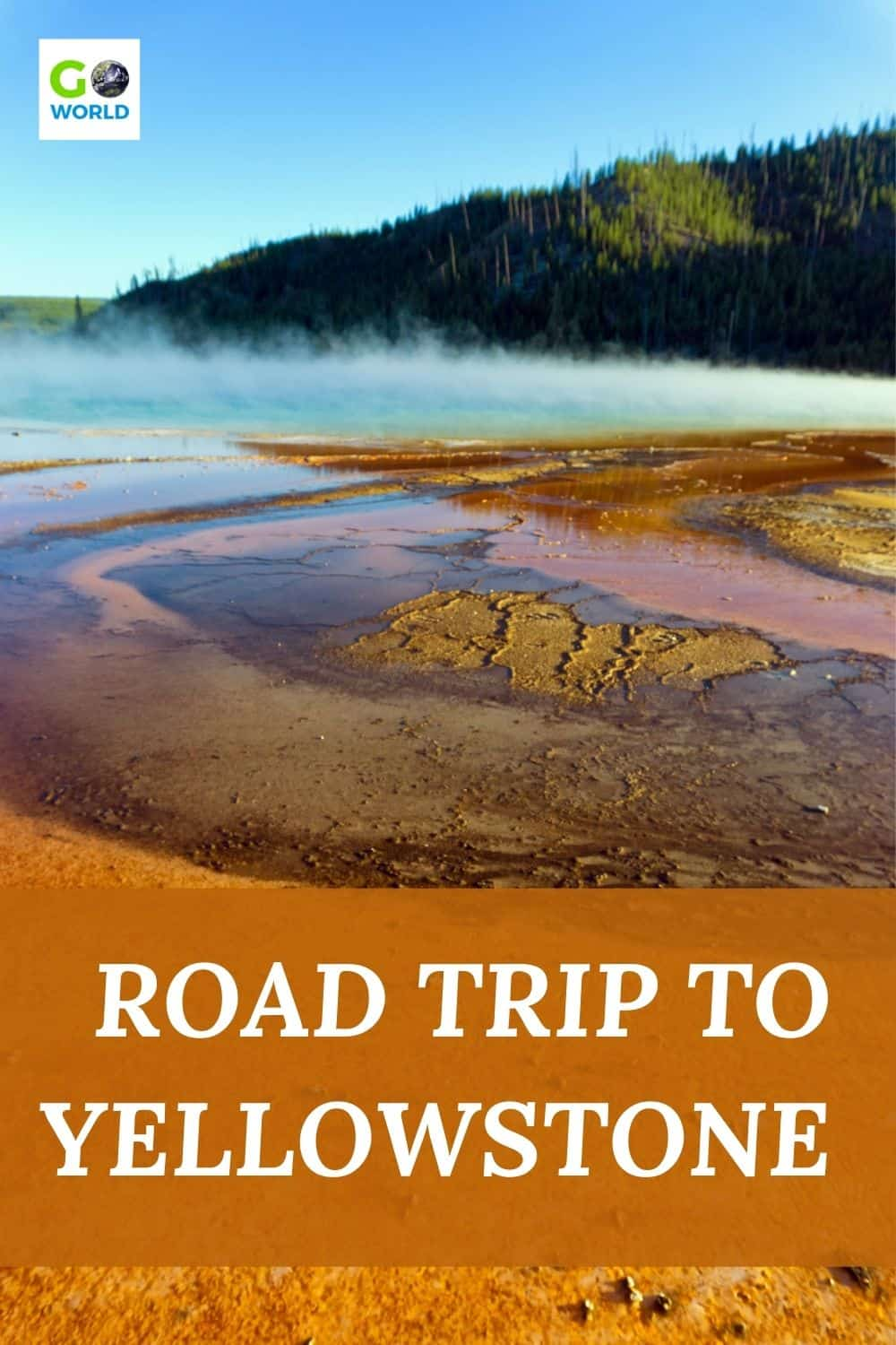 A story of one person's cautious return to travel with a road trip to Yellowstone National Park from Dallas Texas. #YellowstoneNP #RoadtripUSA #Yellowstoneroadtrip