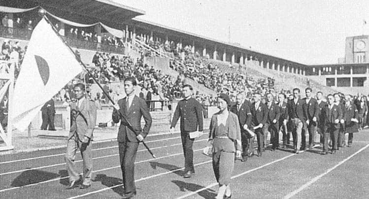 Historic phot of 1964 Tokyo Olympics