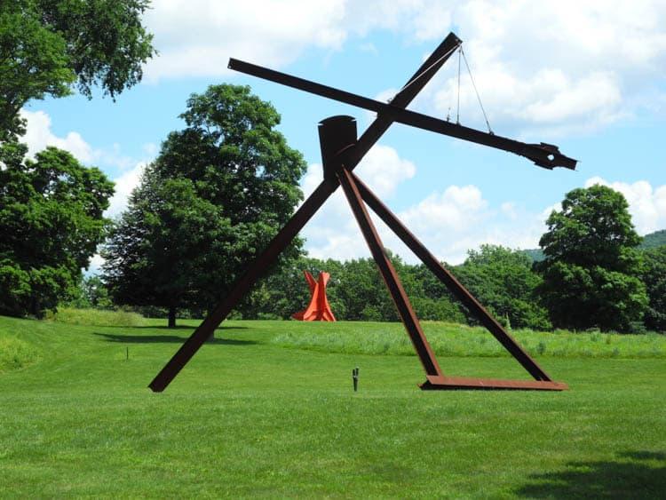 Upstate New York Impressive sculptures at Storm King Art Center