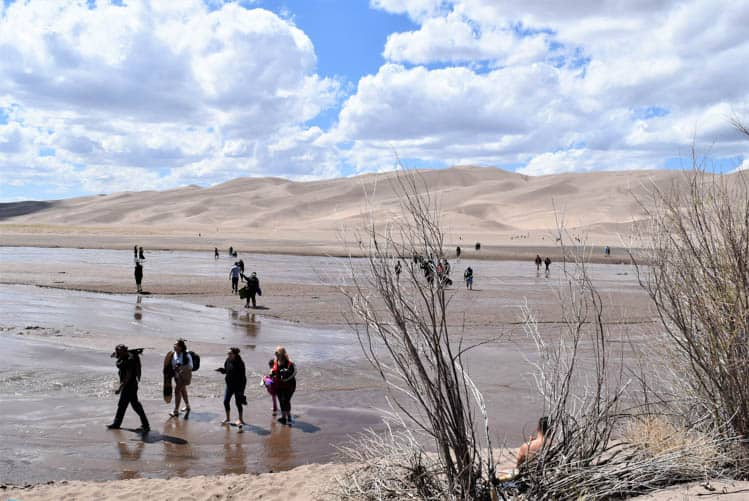 Yellowstone Roadtrip Great Sand Dunes National Park
