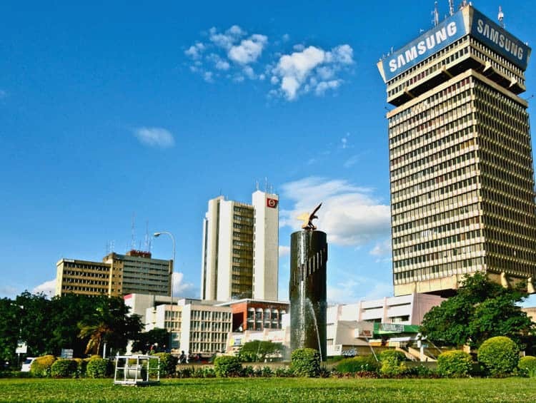 Things to do in Zambia Downtown Lusaka