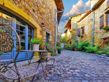 France is home to many beautiful small villages