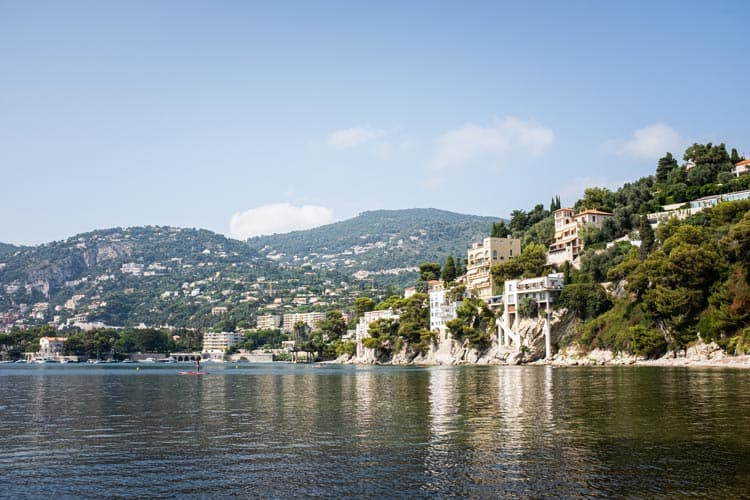 Along the water at Villefranche-sur-Mer