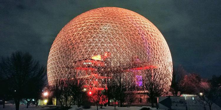 Biosphère in Montreal, Canada