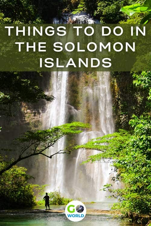 Head to the Solomon Islands in the South Pacific for pristine beaches, great diving, WWII history and unique island customs and traditions.