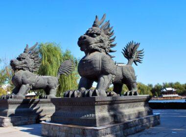 Baoji China lions