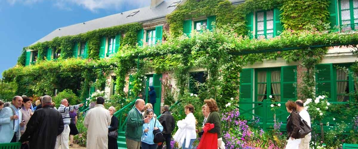 Claude Monet's House and Gardens, which passengers on a theme cruise visit. Photo by Mickem/Dreamstime.com