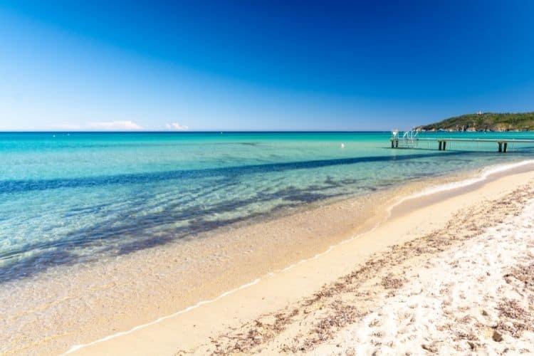 Pampelonne French Riviera Beach