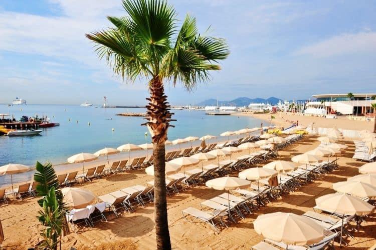 Cannes Beach France