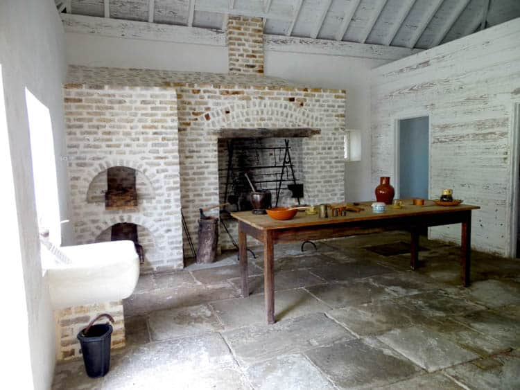 George Washington House Barbados The large kitchen was manned by enslaved servants