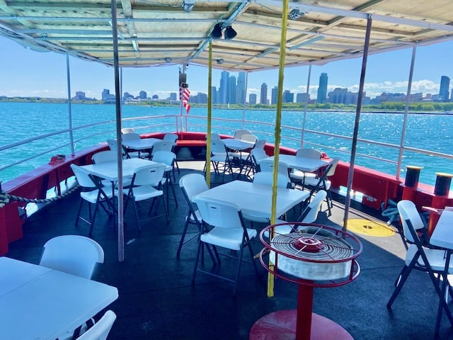 Chicago Fireboat event