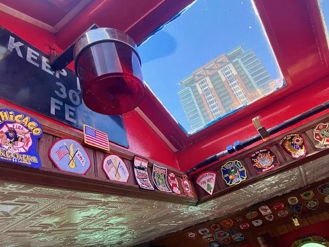 Chicago Fireboat interior