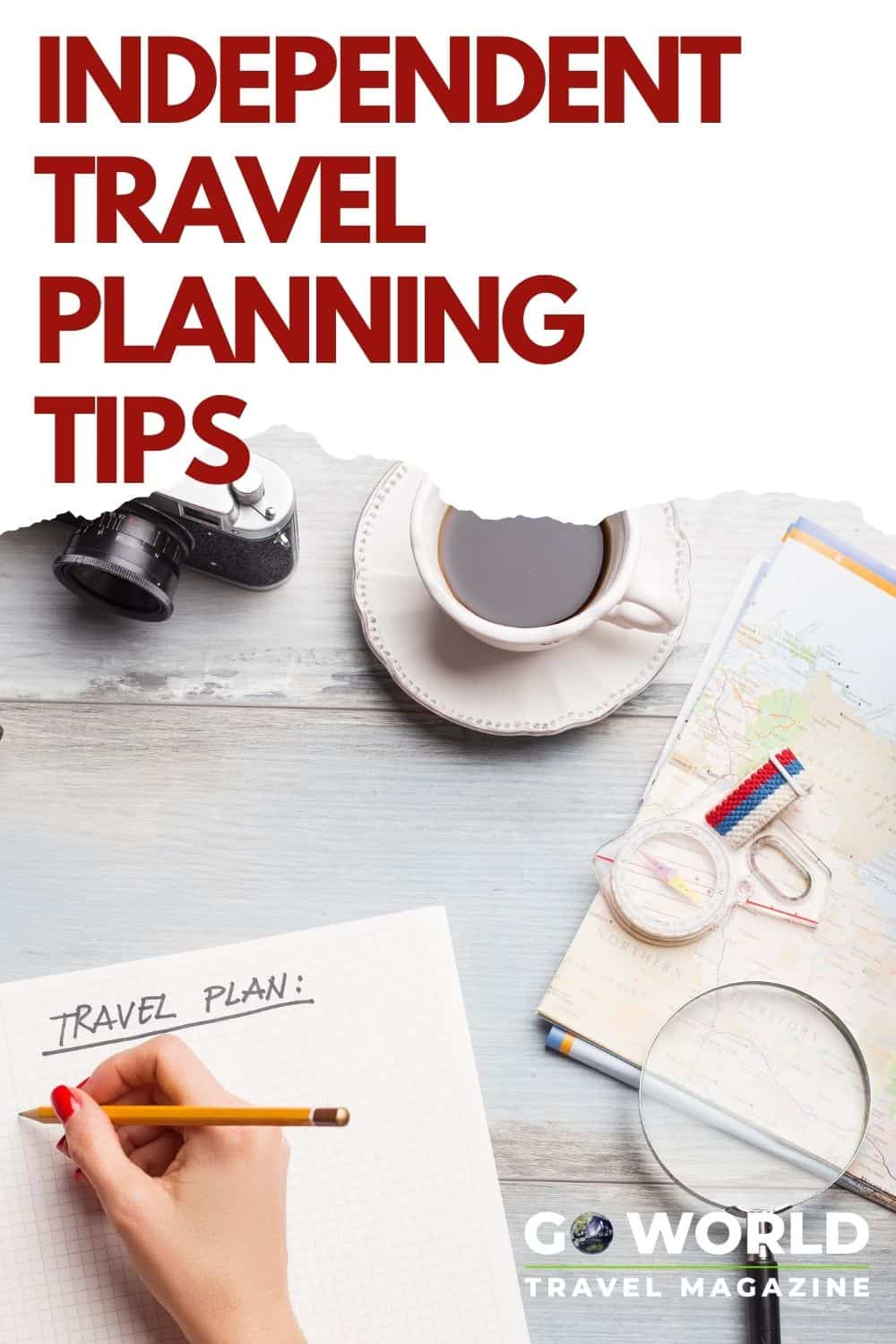 Independent travel is a great way to travel on your terms, but it does take planning. Here's tips for creating a memorable travel experience. #traveltips #independenttravel #travelplanning