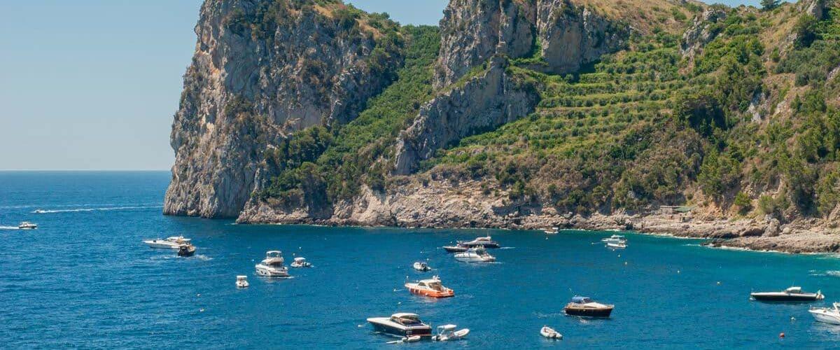 Ieranto bay travel in Italy