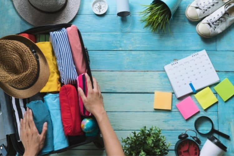Independent Travel packing