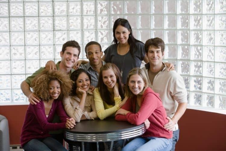 Internations groups of people