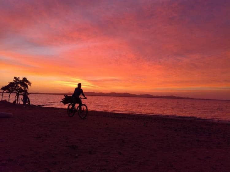 Sunrise at Cabo de la Vela La Guajira Colombia