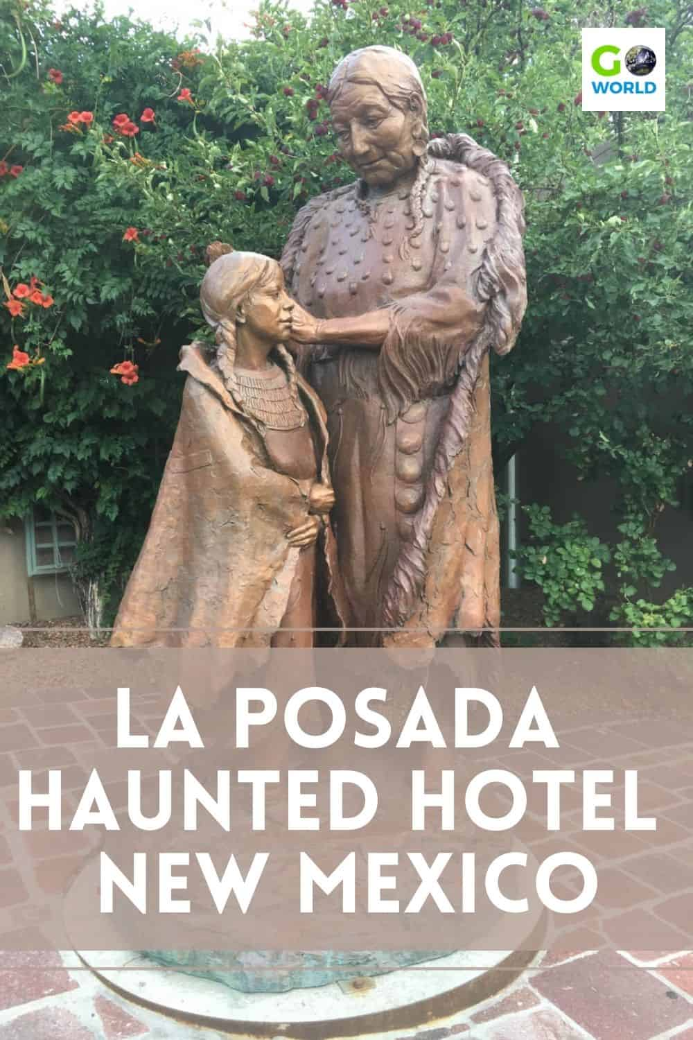 La Posada de Santa Fe: known as a luxurious haunted hotel in New Mexico with artistic decor, delicious food, spa pampering & spirited history.