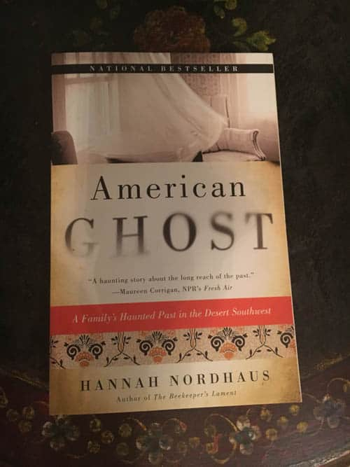 American Ghost novel