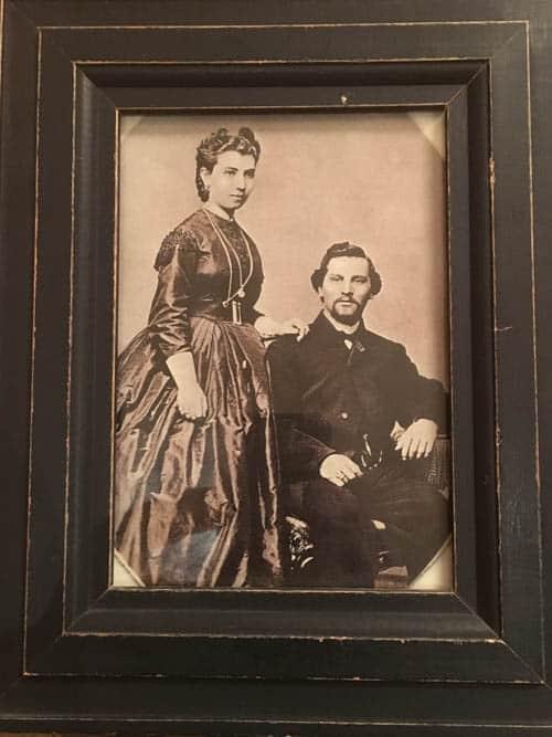 La Posada Julia and Abraham Staab.