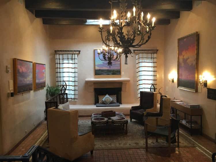 La Posada Haunted Hotel in Santa Fe New Mexico