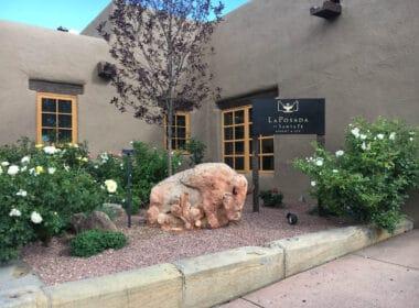 La Posada Haunted Hotel in New Mexico