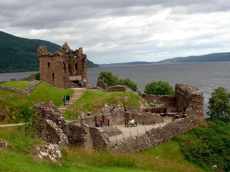 Loch Ness Scotland Urquhart Castle