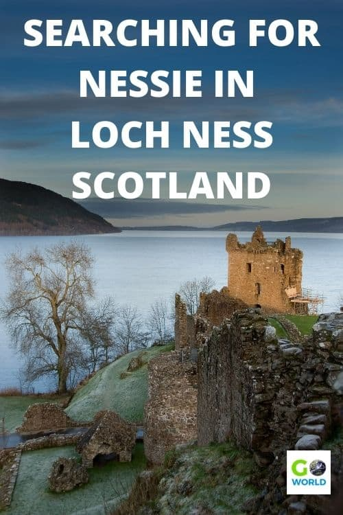 Loch Ness, Scotland is home to the famous Loch Ness Monster. But, how can you see it for yourself? Follow as this author searches for Nessie. #LochNessMonster #TravelScotland #LochNessScotland