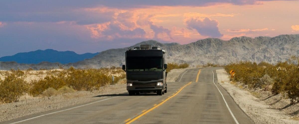 Tips for driving a RV