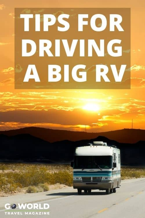 Does the thought of driving an RV have you anxious? These tips from first-timer turned RV road-tripper will give you the confidence you need.  #Howtodriveabigrv #drivingamotorhome #drivinganrv