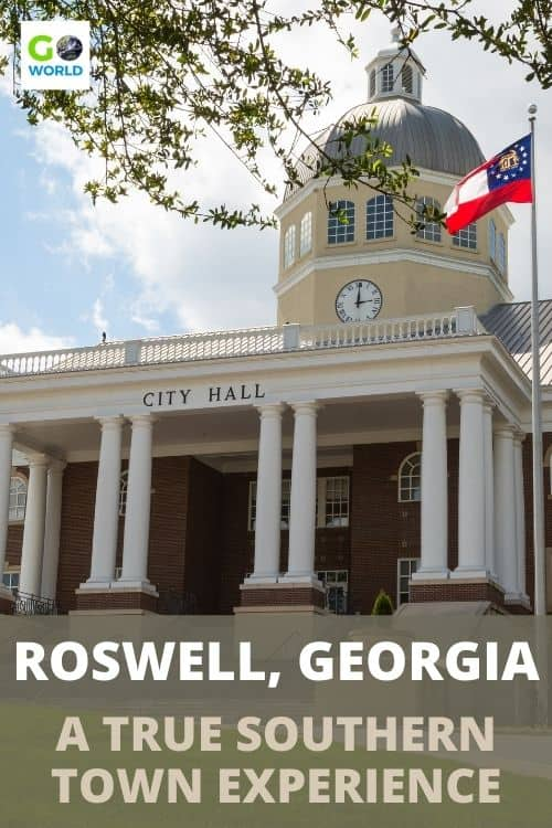 Visit downtown Roswell, Georgia for a true Southern experience. Here are things to do and see, where to stay and where to eat in Roswell, GA. #GeorgiaUSA #SouthernUSA #Roswellgeorgia
