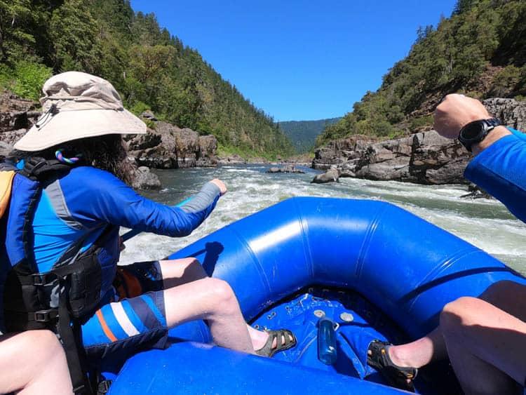 Southern Oregon river rafting