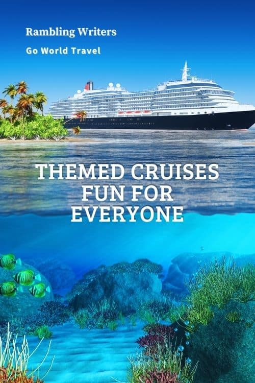 Themed Cruises: Are you looking for a cruise, but also want to experience rock 'n roll, food tasting, mysteries and more? Check out themed cruises for a vacation that's fun for everyone. #Cruises #ThemedCruises #RockCruise #BirdWatchingCruise
