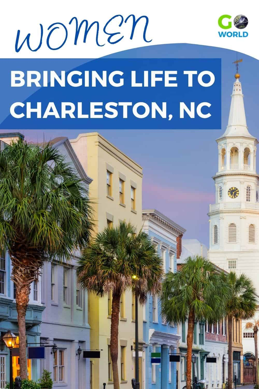 Women of Charleston have been making a difference for decades. Meet these entrepreneurs in Charleston hotels, restaurants & other businesses. #TravelNC #Charlestonnorthcarolina