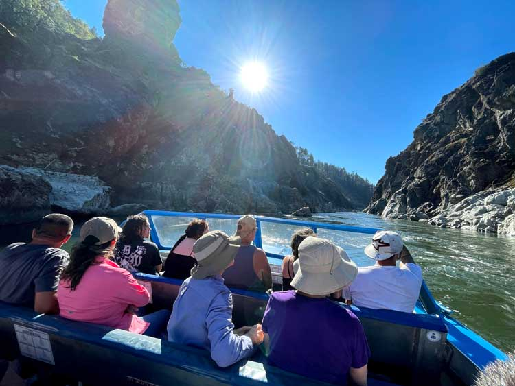 Hellgate Canyon Jetboats