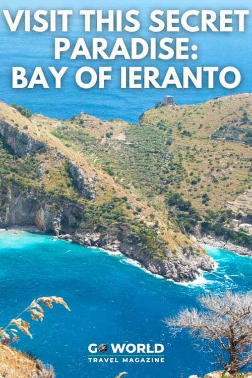 Italy's Bay of Ieranto is a hard-to-find paradise, a pristine inlet that is a favorite with locals. The trail to Bay of Ieranto is almost undetectable. Here's how you can reach this beautiful Italian beach.