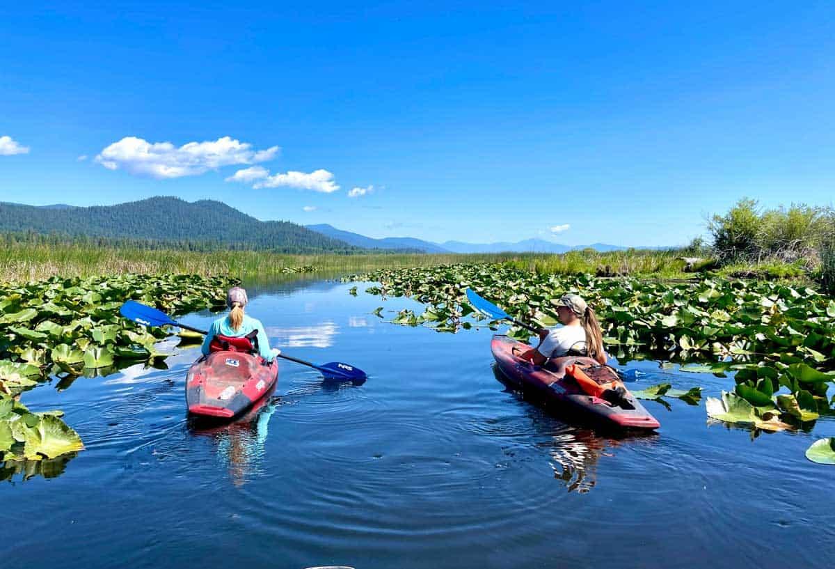 Kayaking Malone Springs Oregon