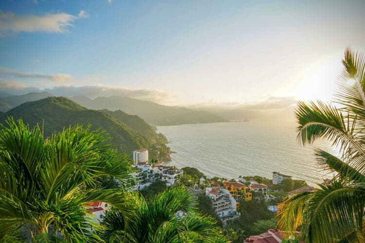 View over Puerto Vallarta