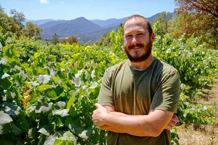 Steve Grande is the winemaker at Wooldridge Creek Winery in Southern Oregon
