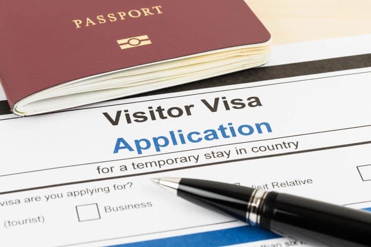 Visa applications for South Korea