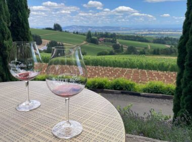 White Rose Estate Winery and Vineyard in Oregon's Willamette Valley. Photo by Janna