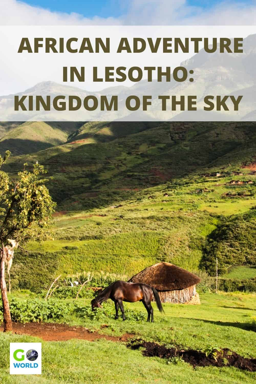 If you're looking for African adventure, a road trip to Lesotho (Kingdom in the Sky) will fulfill your adventurous goals on land and in water. #travelinafrica #adventureinafrica #africanroadtrip